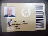 Manuel Salgado de Freitas Teixeira, sócio do Vitória de Guimarães (arquivo pessoal)