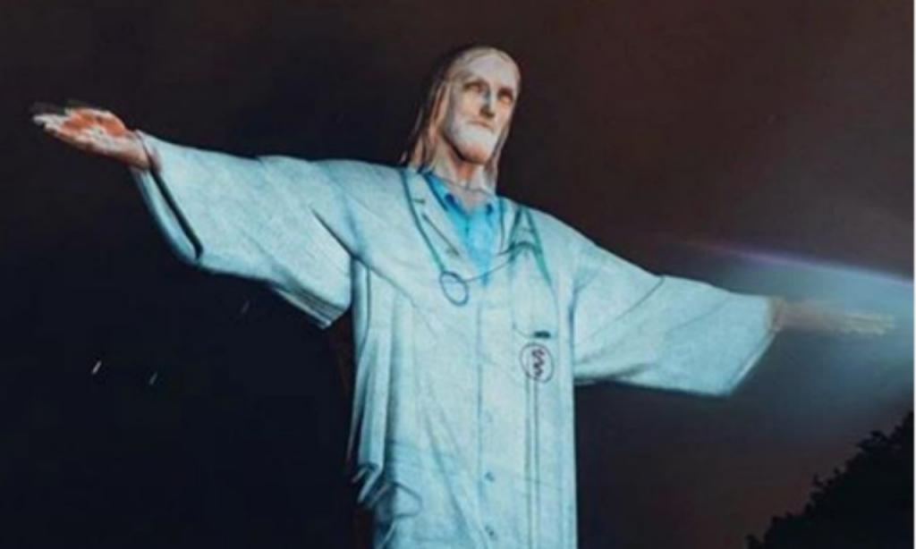 Cristo Redentor (instagram Neymar)