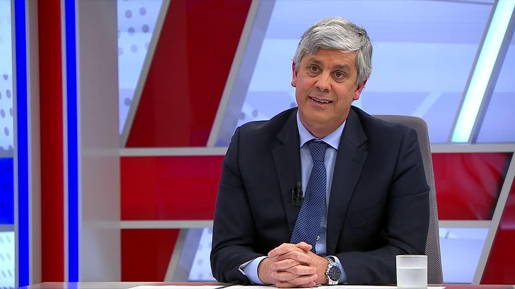 Mário Centeno na TVI