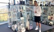 Cristiano Ronaldo visitou o Museu do Nacional (fotos do Nacional)
