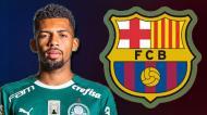 Matheus Fernandes, do Palmeiras para o Barcelona (7 milhões de euros)