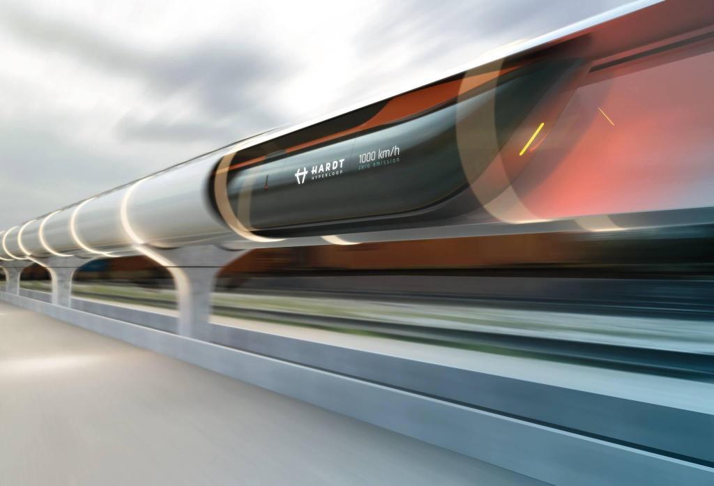 Hyperloop promete viagens entre Paris e Amesterdão em menos de 90 minutos