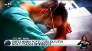 A imagem da exaustão nos hospitais portugueses que está a comover o país