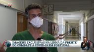 TVI mostra a linha da frente nos Cuidados Intensivos do São João: «Estamos em guerra»