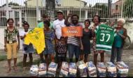Comunidades do Rio de Janeiro agradecem doações de Wendel