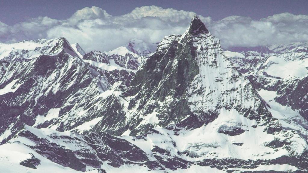 Matterhorn, Alpes