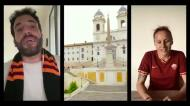 Paulo Fonseca canta hino da Roma com muito sentimento