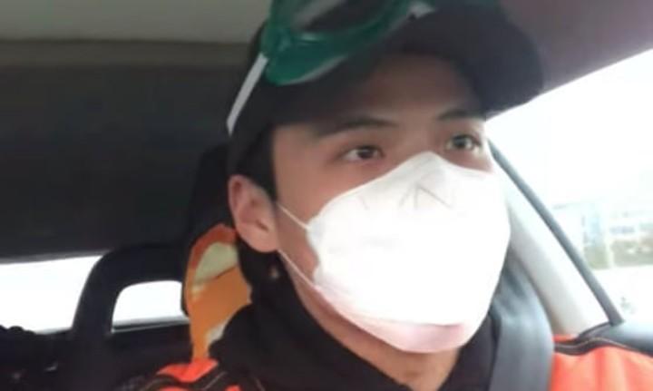 O jornalista Li Zehua esteve desaparecido durante dois meses