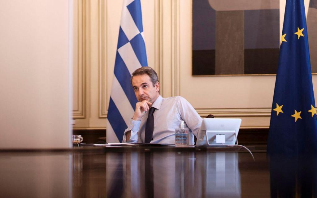 Kyriakos Mitsotakis - primeiro-ministro da Grécia