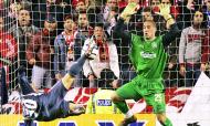 Liverpool-Benfica, Liga dos Campeões 2005/2006 (AP)