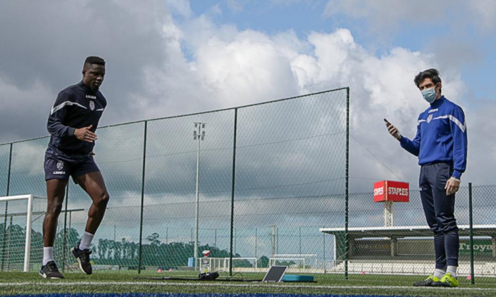 Feirense regressou aos treinos (redes sociais Feirense)