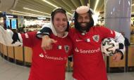 Valquirio Barcelos e Belchior Botelho, adeptos do Santa Clara