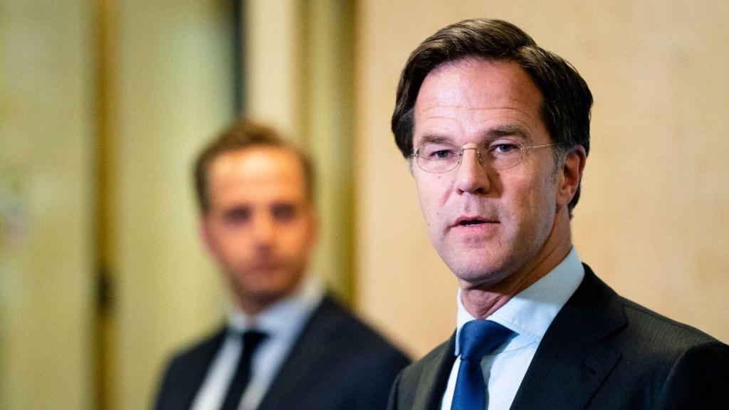 Mark Rutte - primeiro-ministro dos Países Baixos