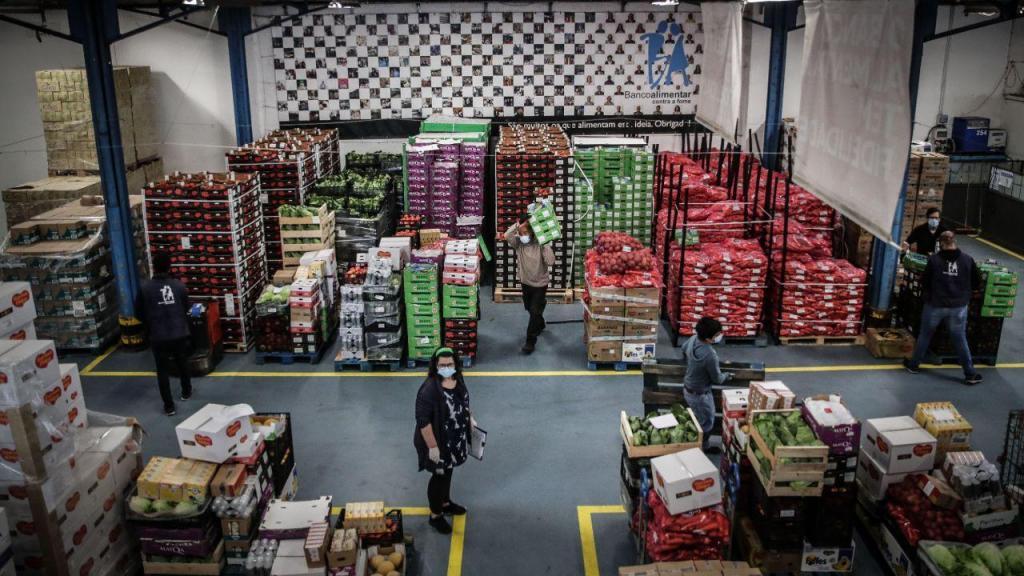 Covid-19: Aumento dos pedidos de ajuda ao Banco Alimentar