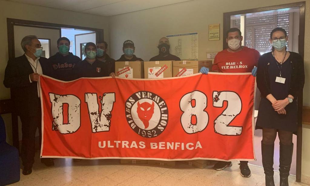 Diabos Vermelhos oferecem socas ao Hospital Garcia de Orta