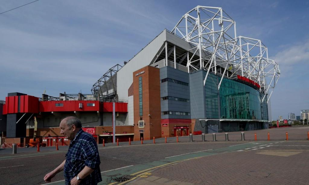 Old Trafford (AP Photo/Jon Super)