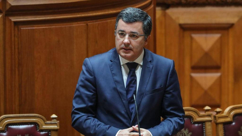 Jorge Botelho - secretário de Estado da Descentralização e da Administração Local