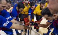 Barcelona campeão de hóquei em patins em Espanha
