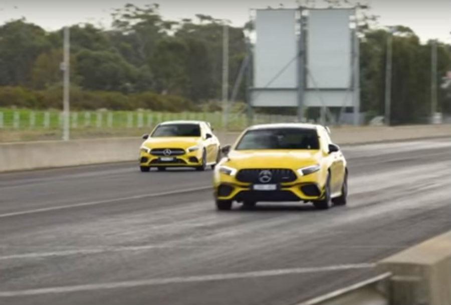 Mercedes-AMG em duelo: A 45 S vs. A 35