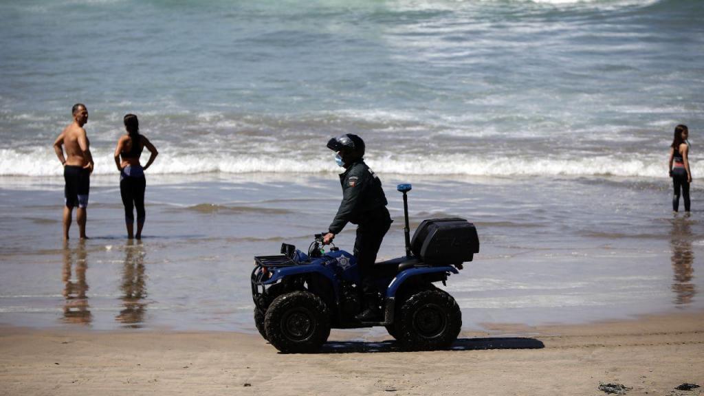 Polícia Marítima fiscaliza praias