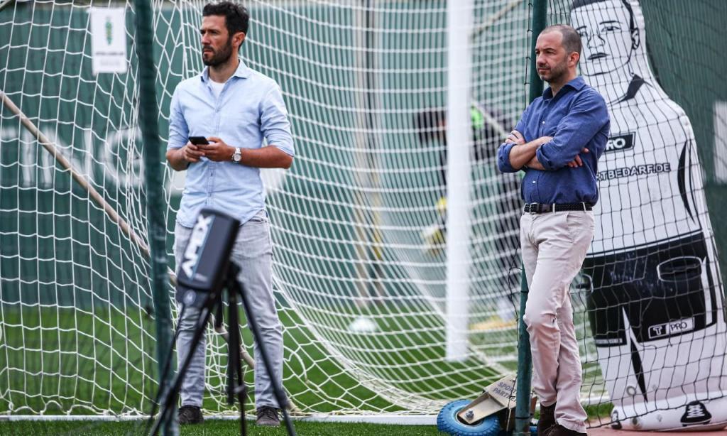 Treino do Sporting (4 de maio)