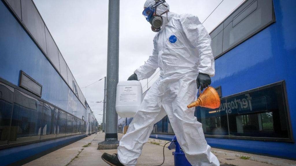 Covid-19: desinfeção dos comboios da Fertagus