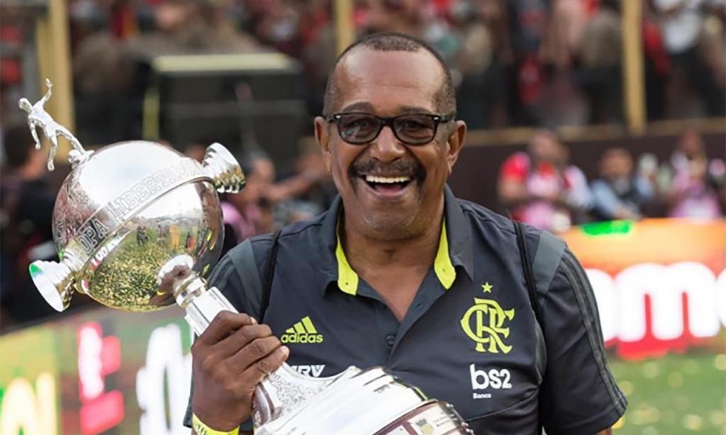 Jorge Luiz Domingos, massagista do Flamengo (Alexandre Vidal/Flamengo)