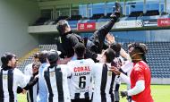 Nacional festeja subida à I Liga para 2020/2021 (CD Nacional)