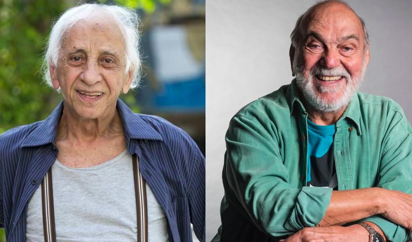 Flávio Migliaccio e Lima Duarte