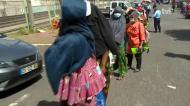 Polícia chamada para controlar centenas de pessoas que procuravam comida na Amadora