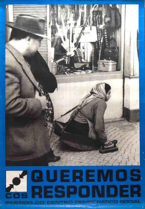 Arquivo Ephemera: cartaz CDS (1976)