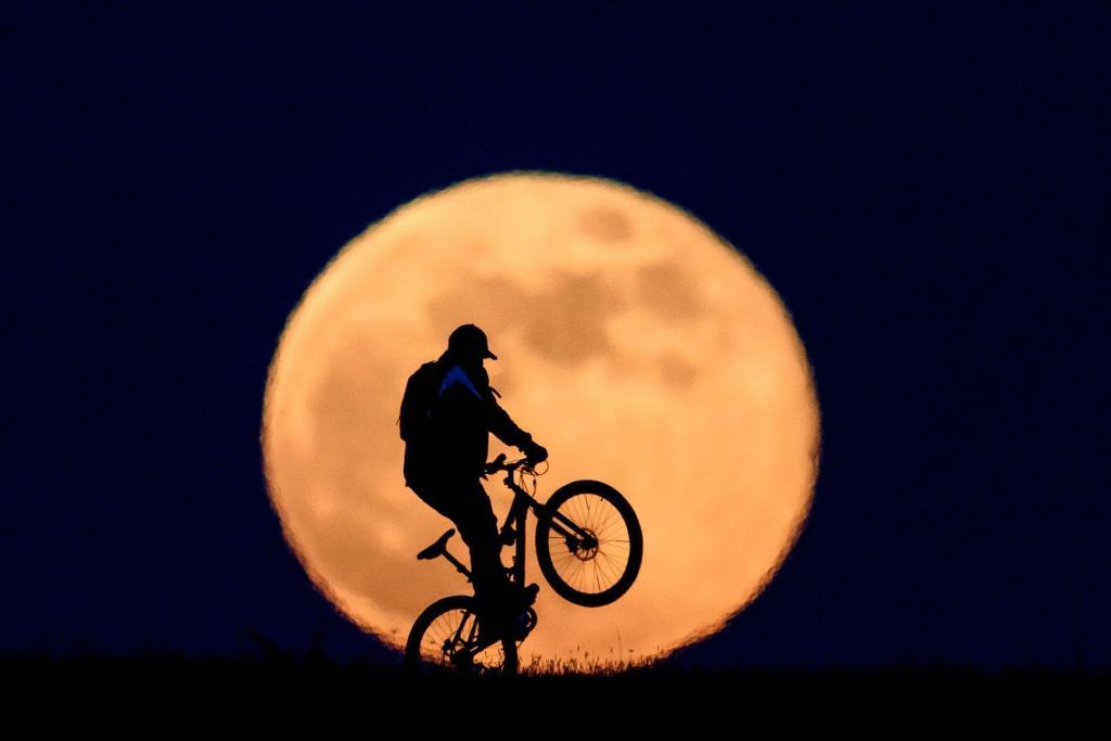 Super Lua na Hungria