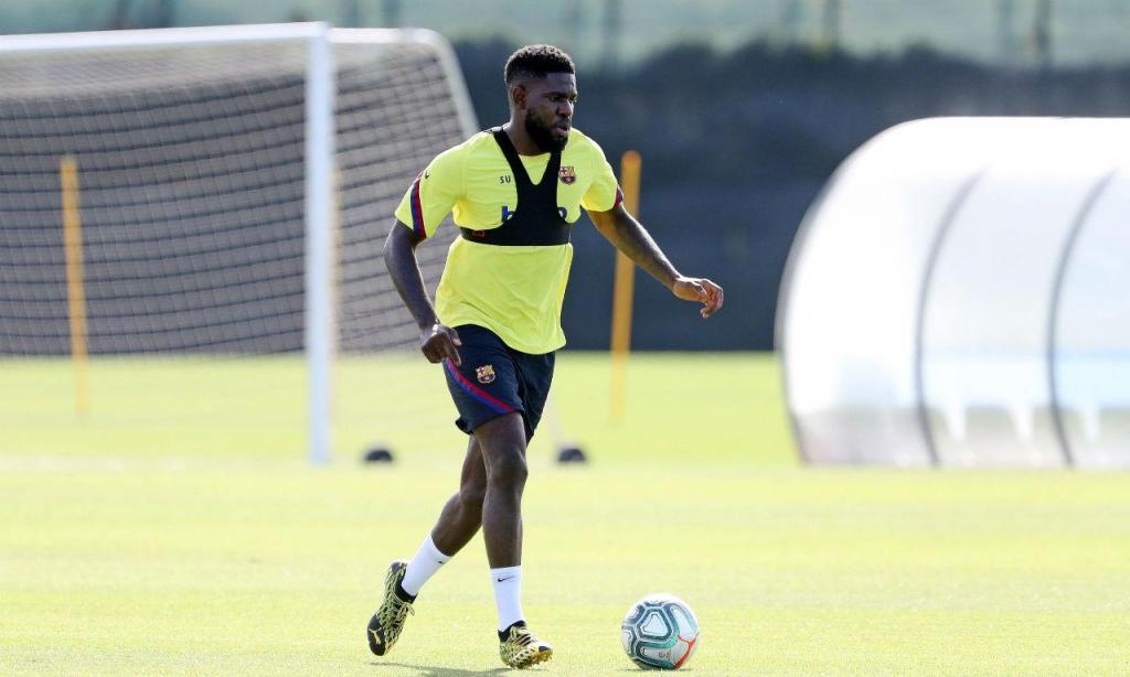 Regresso aos treinos Barcelona
