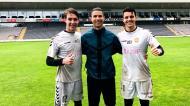 Jovem guarda-redes viveu sonho ao lado de Cristiano Ronaldo