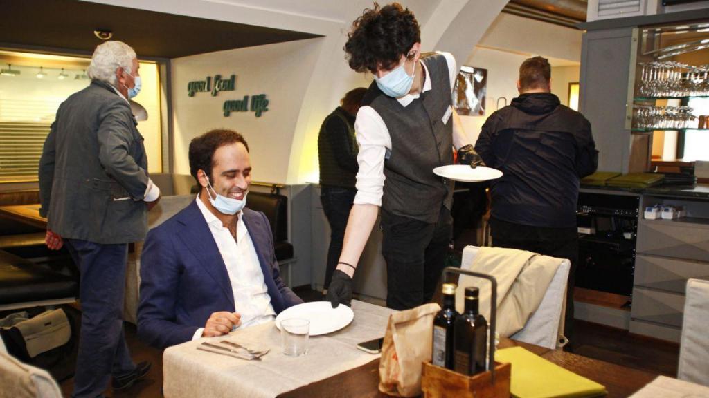 Covid-19 nos restaurantes