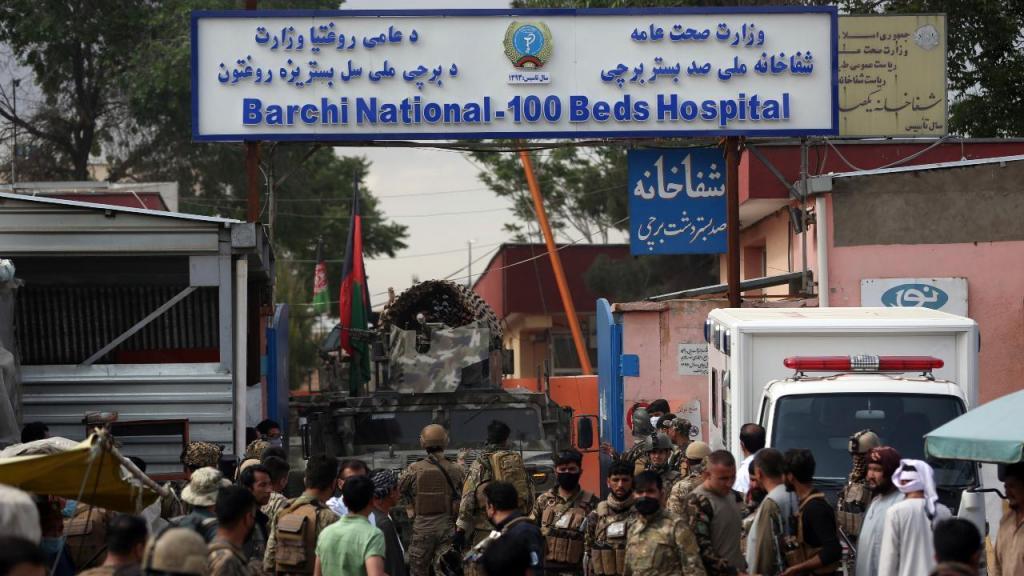 Hospital no Afeganistão