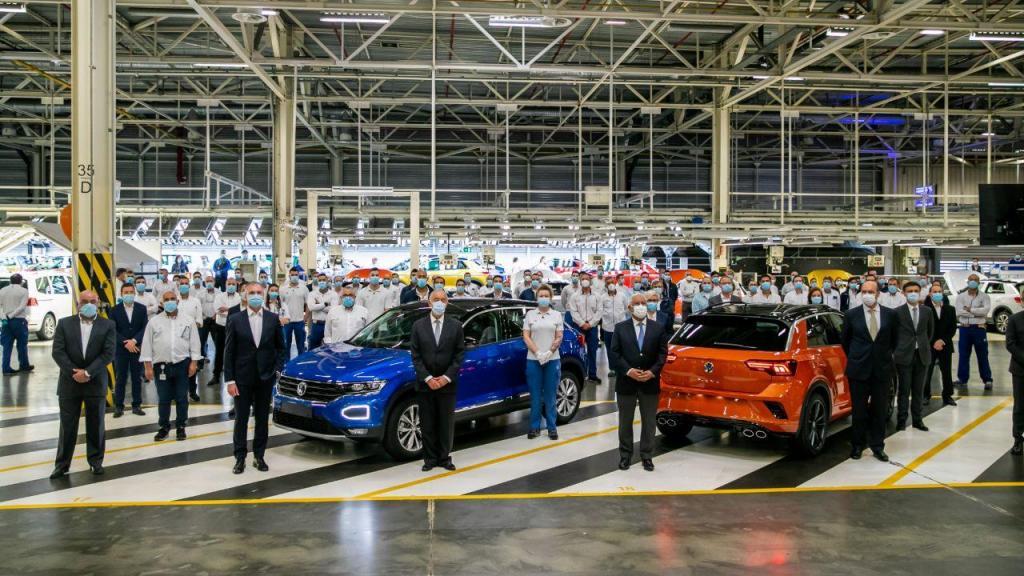 Presidente da República e primeiro-ministro visitam Autoeuropa