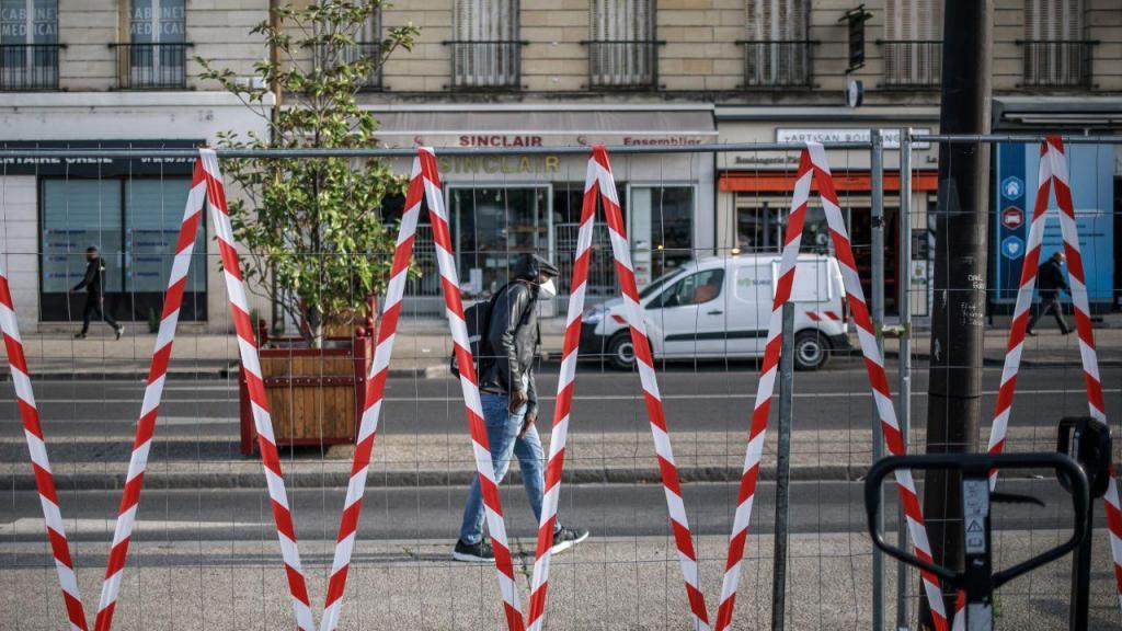 Covid-19: as imagens do desconfinamento em França
