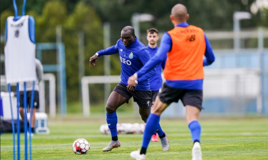 FC Porto voltou a treinar no Olival (site FC Porto)