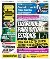 As capas dos jornais - 14 de maio de 2020