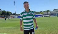 Hanuch esteve há quase um ano no jogo de homenagem de ex-atletas do Sporting a Paulinho (Facebook Hanuch)