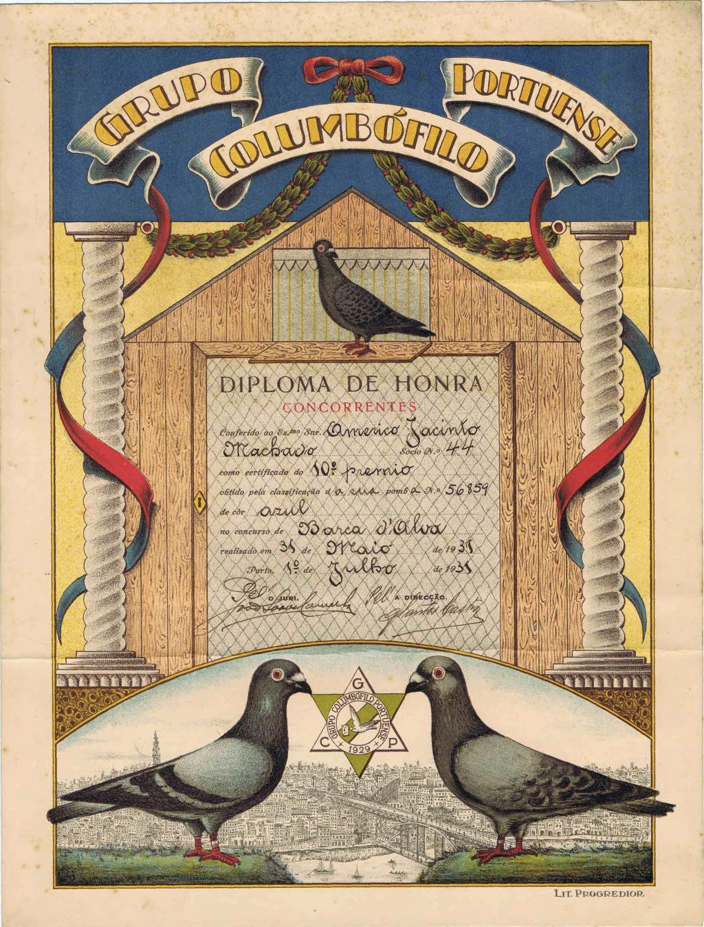 Arquivo Ephemera: columbofilia (anos 30)