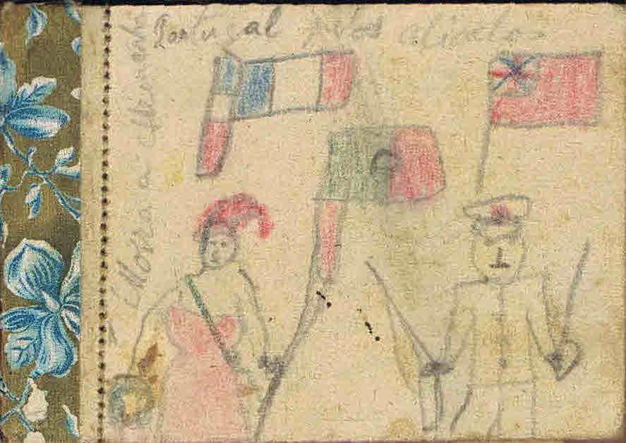 Arquivo Ephemera: desenho político sobre a República (1939-41)