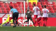 O Colónia-Mainz teve quatro golos, o último dos quais difícil de crer