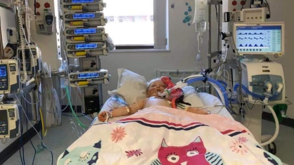 Scarlett, a menina que luta contra a doença de Kawasaki