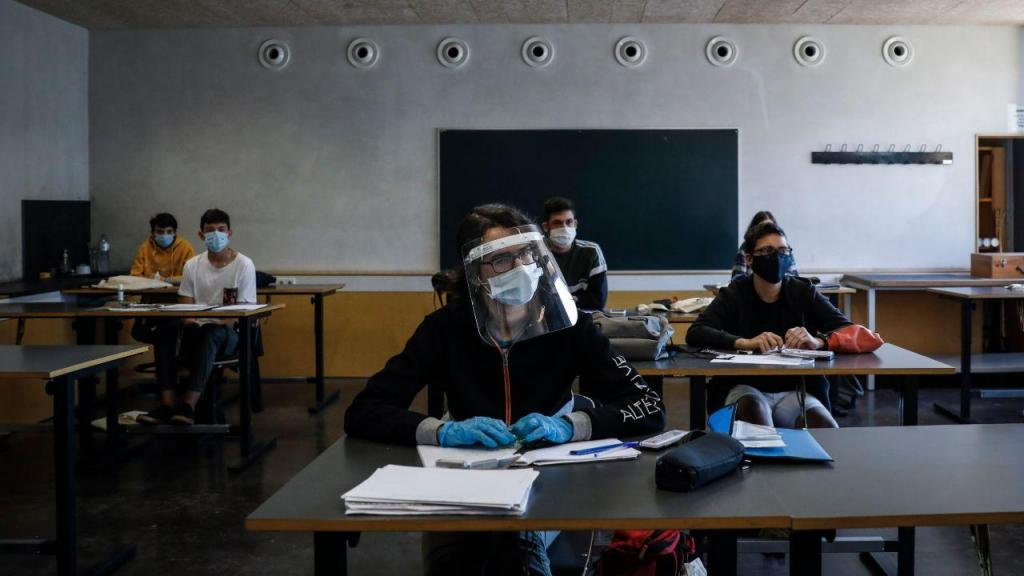 COVID-19: Início das aulas na Escola Secundária de Santa Maria