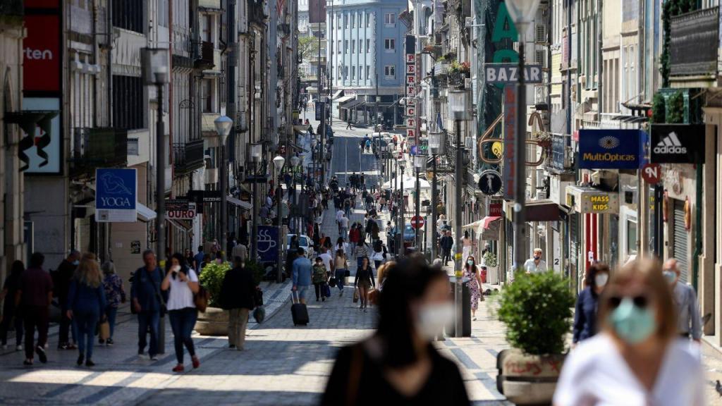 Reabertura do comércio e da restauração no Porto