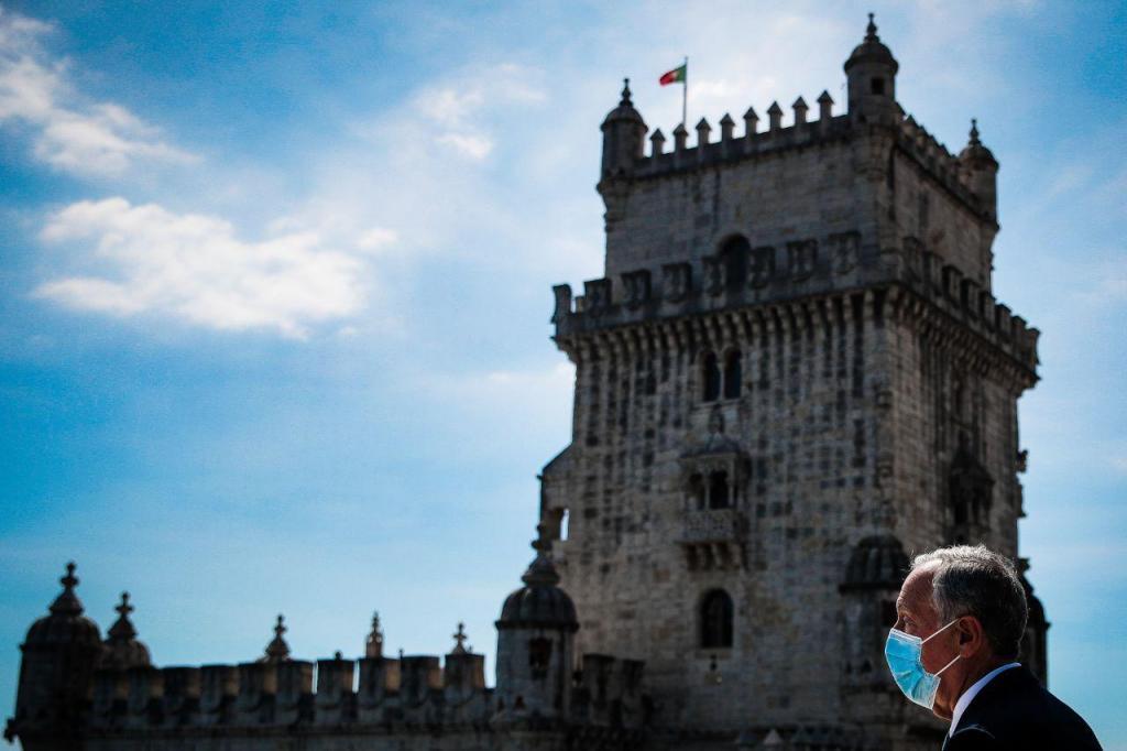 Marcelo Rebelo de Sousa visita Torre de Belém