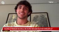 João Félix fala nas «picardias» com Felipe e Herrera