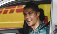 Cristiano Ronaldo voltou ao trabalho com a juventus (Fabio Ferrari/LaPresse via AP)